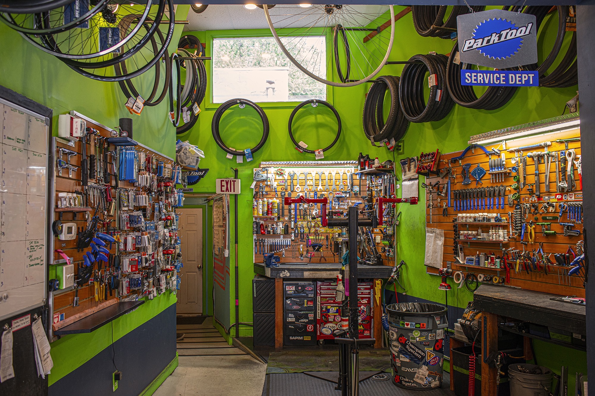 Bicycle Service Station at Bike Works Doylestown