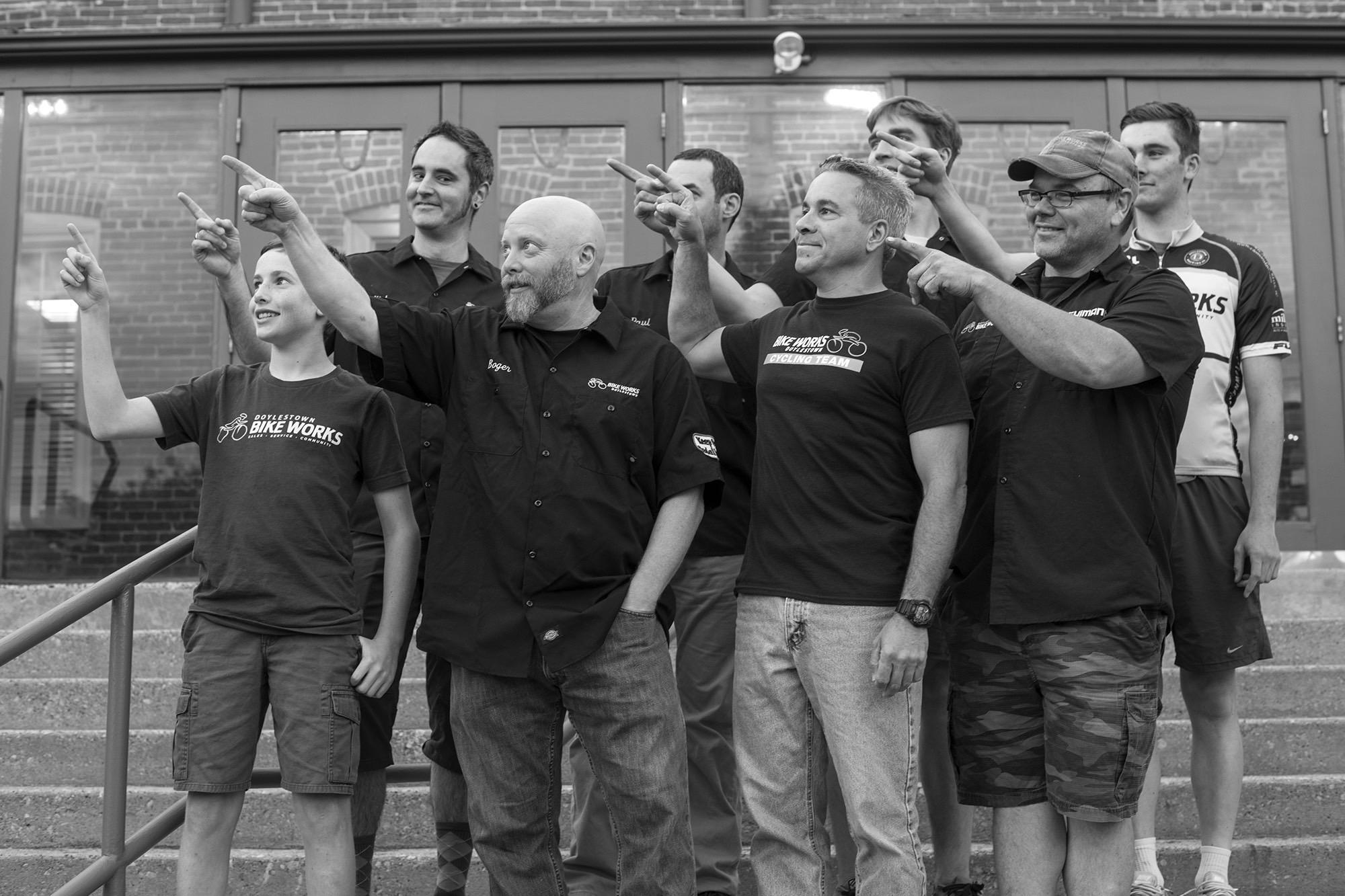 The Bike Works Team