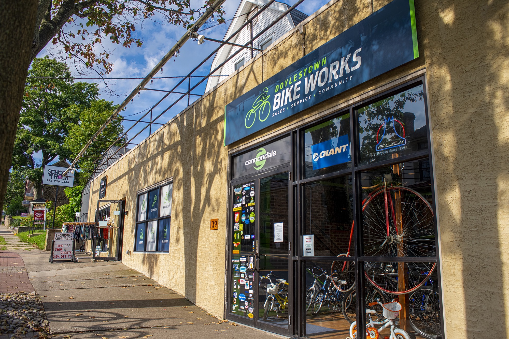 Exterior of Bike Works Doylestown