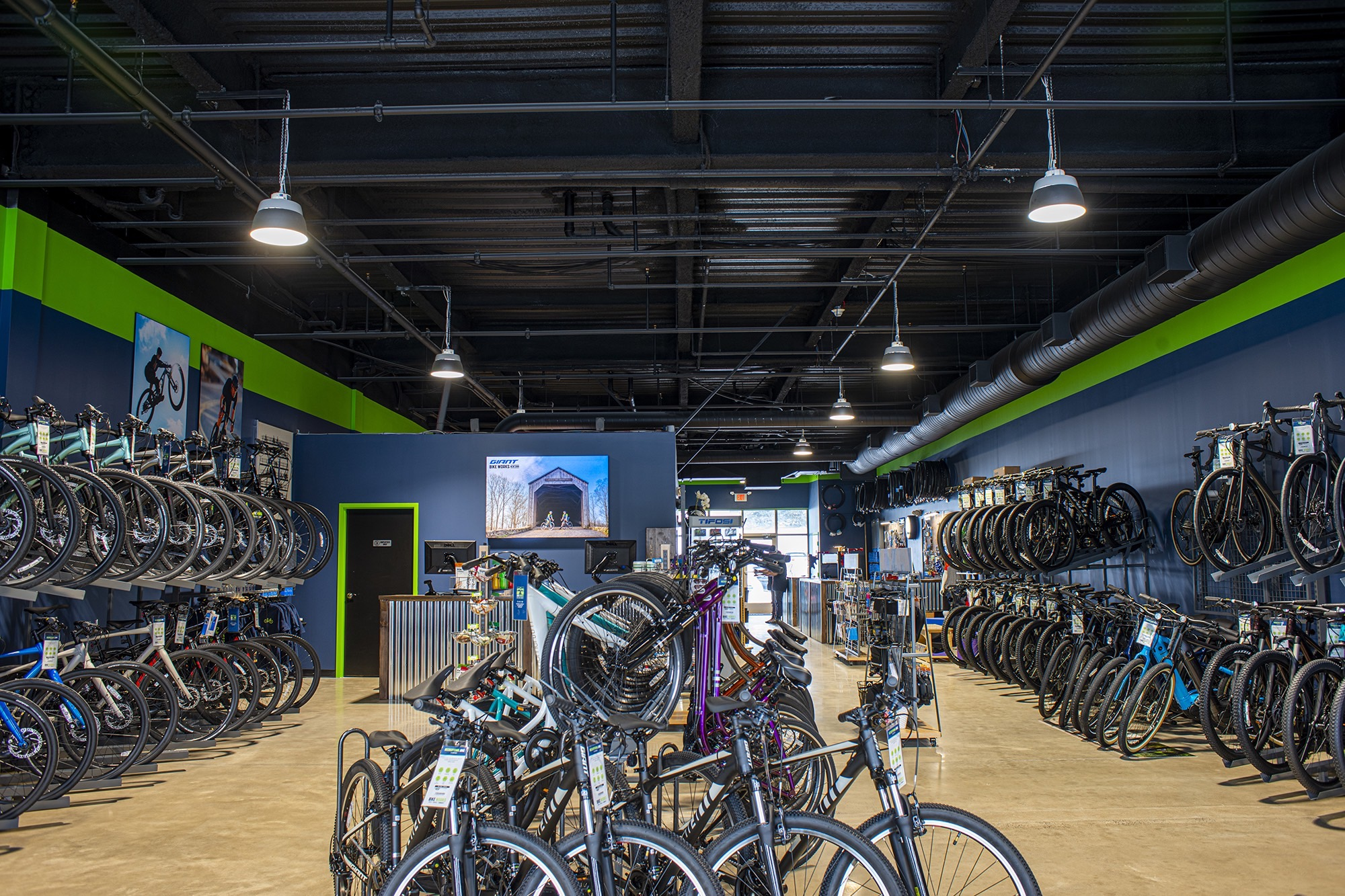 A new bike store in Newtown, PA
